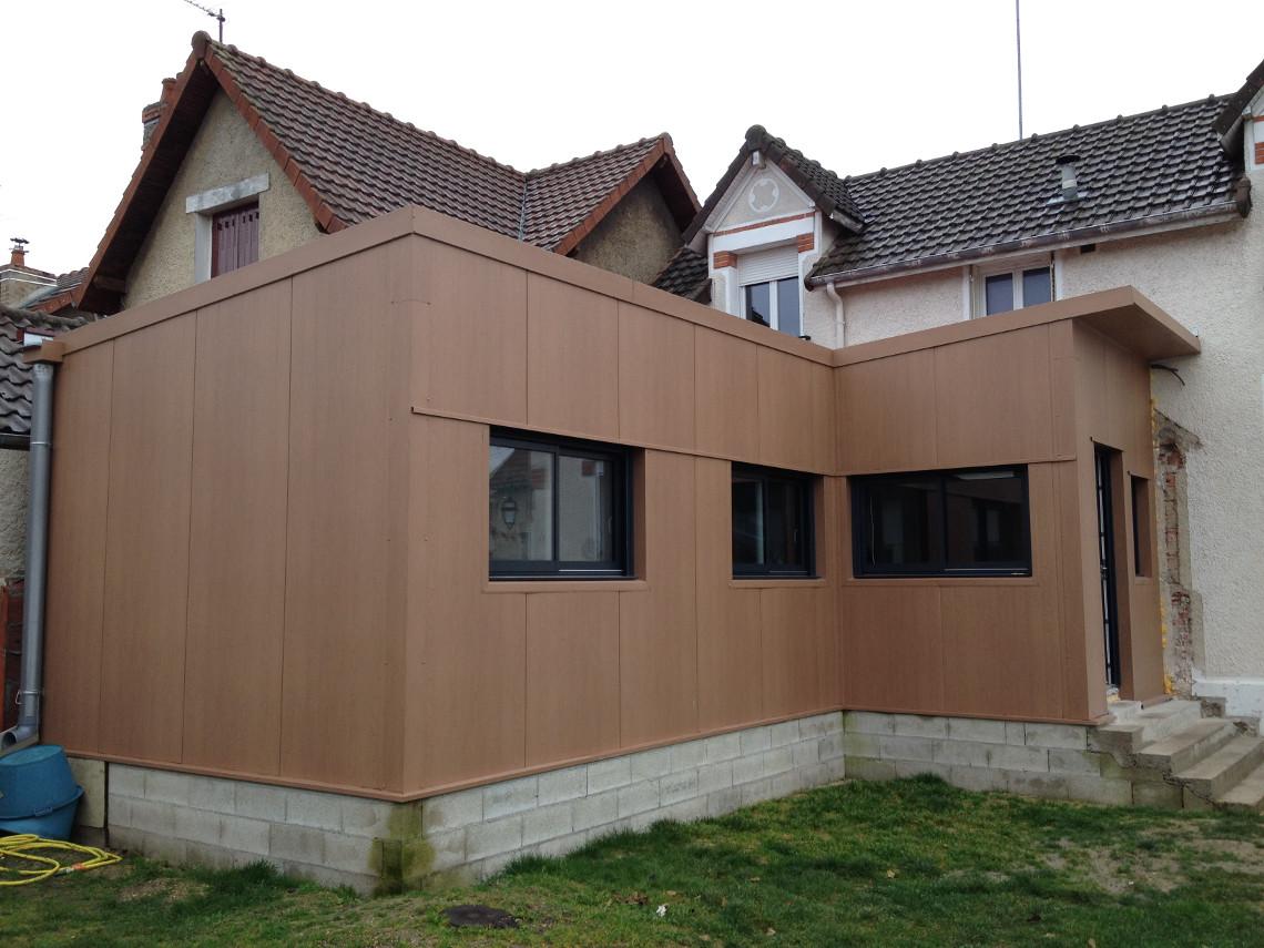 Bertin pailley constructeur de charpente m tallique dans for Charpente metallique maison individuelle